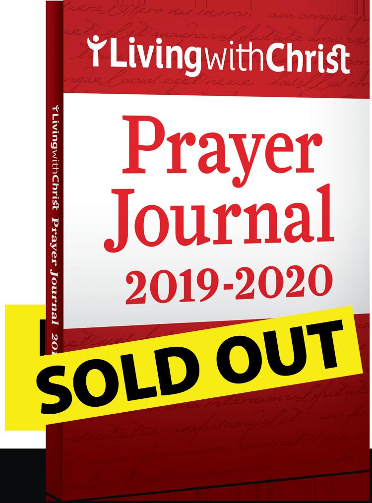 2019-2020 Living with Christ Prayer Journal