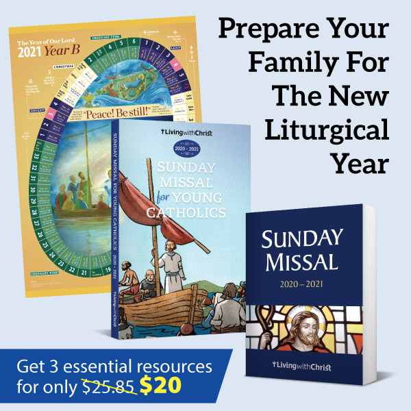 2020-2021 Living with Christ Sunday Missal for Young Catholics