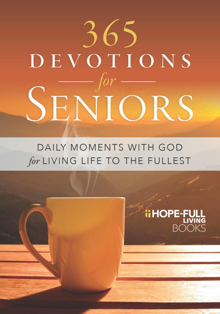 365 Devotions for Seniors Book